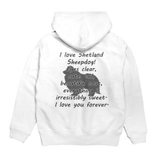 シェットランドシープドッグ Hoodies