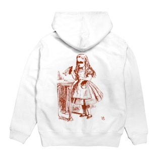 Mad Hatter's Shopの少女A Hoodies