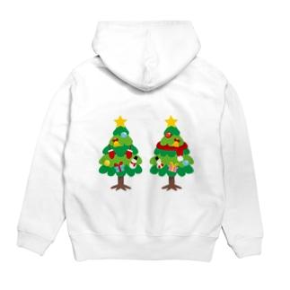 *suzuriDeMonyaa.tag*のCT88 林さんのクリスマスA Hoodies