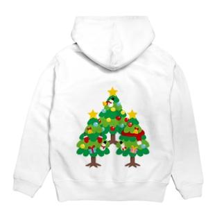 CT89 森さんのクリスマスA Hoodies
