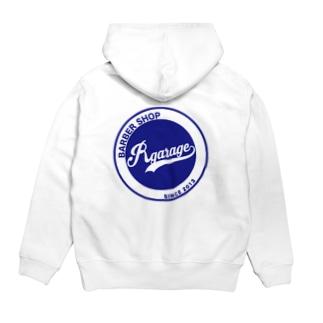 Rgarage og logo Hoodie