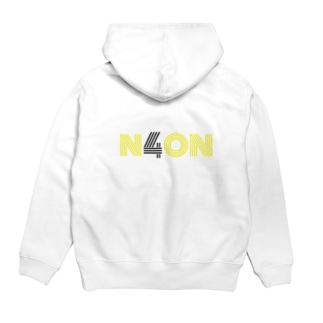 N4ONロゴ / イラスト入りパーカー【N4ONグッズ】 Hoodies