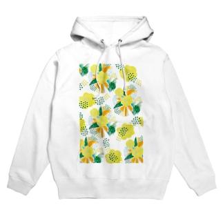 yellow_flower Hoodies