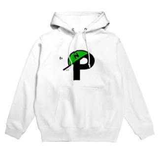 N+P_logo Hoodies