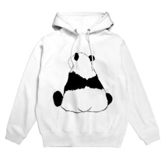 パンダの背中🐼 Hoodie