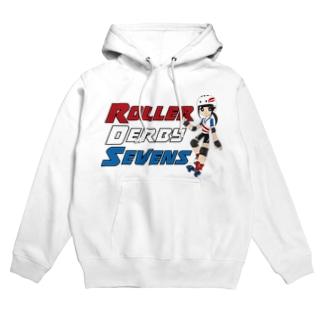 Roller Derby Sevens Hoodies