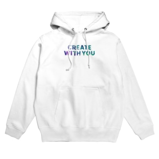 CREATE WITH YOUシリーズ Hoodies