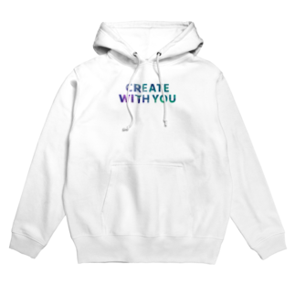 FREELY SHOPのCREATE WITH YOUシリーズ Hoodies