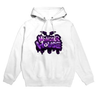 MONSTER HOUSE LOGO Hoodies