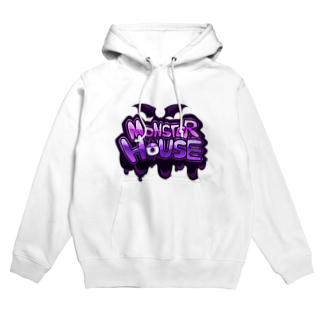 悪天🦄✨のMONSTER HOUSE LOGO Hoodies