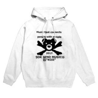 SEK SEND MUSIC Hoodies