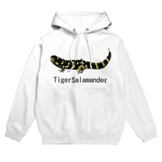 タイガーサラマンダー Hoodies