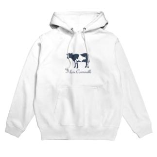 I Love Cowsmilk Hoodies