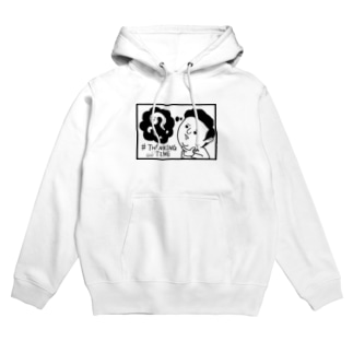 THINKING TIME Hoodies
