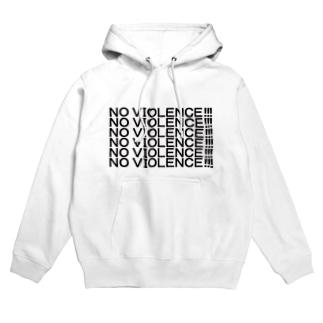 NO VIOLENCE!!! Hoodies