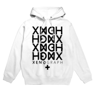 XENOGRAPH ver.01 / white Hoodies