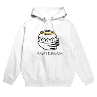 AMATERRAS with letters. Hoodies