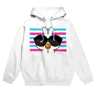 Spoiled Rabbit - Sunglass / あまえんぼうさちゃん - サングラス Hoodies