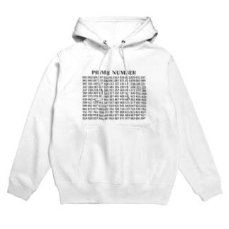 素数(Prime number) 02 Hoodies