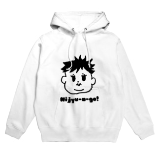 Nijyu-a -go!多毛girl Hoodies