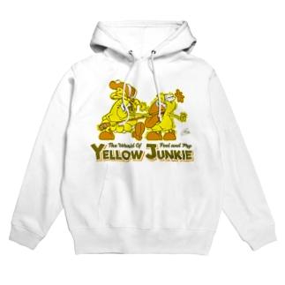 YELLOW JUNKIE キイコとキイタ Hoodies