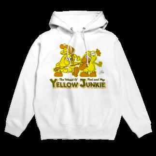 The World of YELLOW JUNKIEのYELLOW JUNKIE キイコとキイタ Hoodies