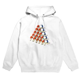 【しょうに】ピラミッド Hoodies
