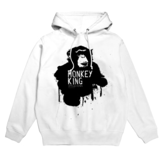 MONKEY KING_BLACK Hoodies