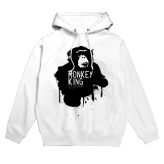 OFFICIAL GOODS SHOPのMONKEY KING_BLACK Hoodies