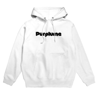 maru-moji-center-purplume Hoodies