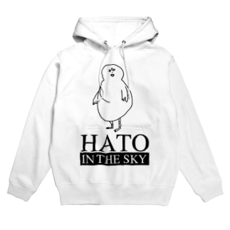 HATO IN THE SKY Hoodies