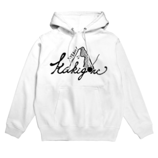kakigori yeah (black)かき氷 Hoodies