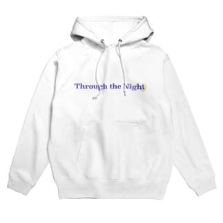 Through the Night original Hoodies
