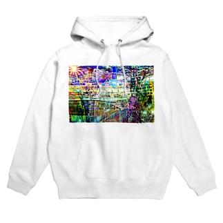 Web Color City Hoodies