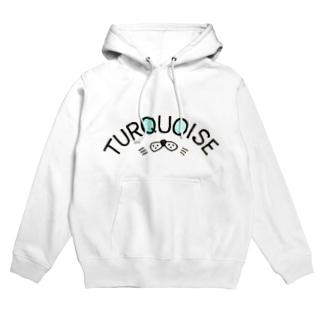 TurQuoise item Hoodies