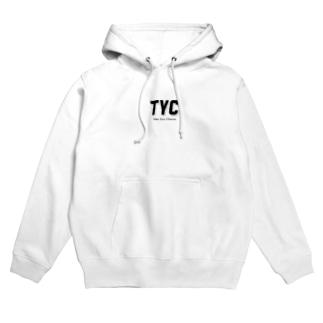 TYCスポーティーロゴ Hoodies