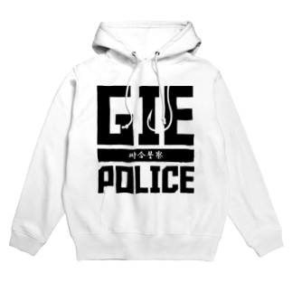 GIE POLICE Hoodies
