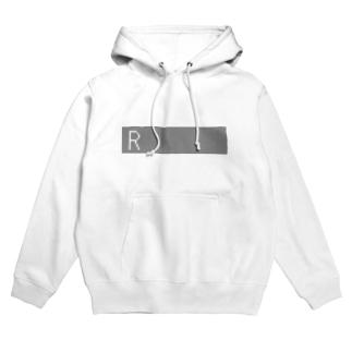 Rを挿入 Hoodies