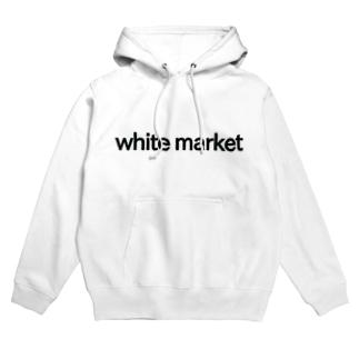 white market パーカー Hoodies