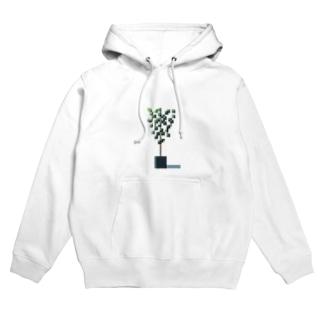 観葉植物 Hoodies