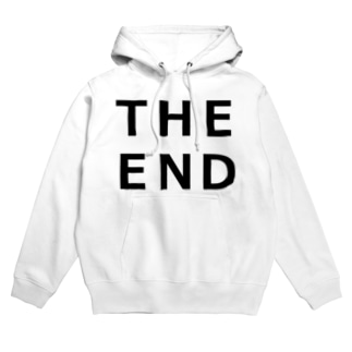 THE END (黒) Hoodies