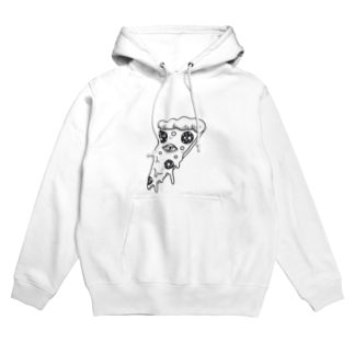 HELLO AND GOODBYEのLOVE AT FIRST SLICE Hoodies