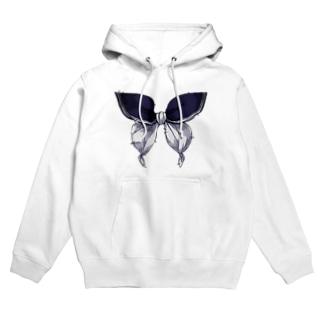 セーラー服は永遠 - 青×白 Hoodies