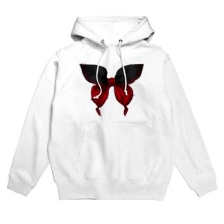 セーラー服は永遠 - 黒×赤 Hoodies