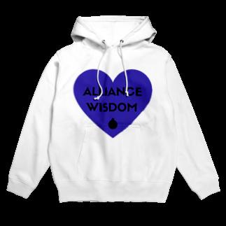 アリスマン【仮想通貨】のALLIANCE&WISDOM・アリスマングッズ Hoodies