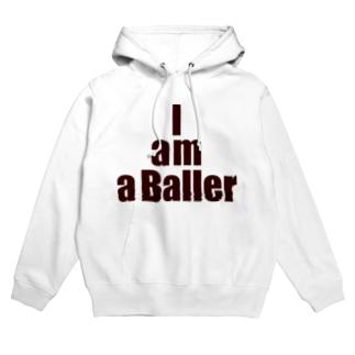 I am a Baller Hoodies