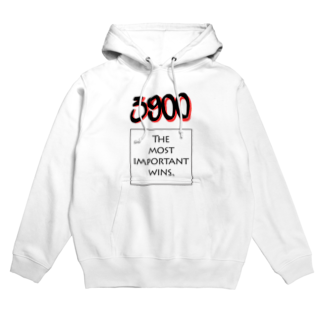 wlmのPOINTS - 3900 Red Hoodies