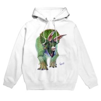 Triceratops Hoodies