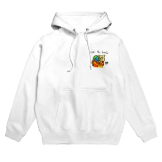 HEAL THE WORLD Hoodies