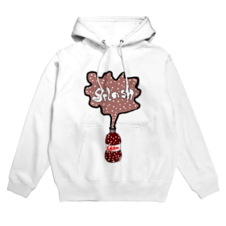 Coke  Splash Hoodies